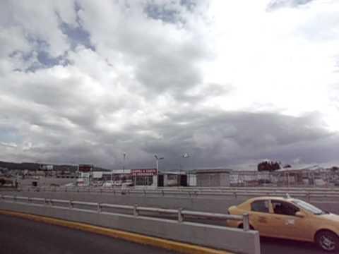 Avion en Quito
