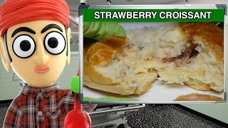 7Days Double Croissant Strawberry & Vanilla Filling - Runforthecube Food Review