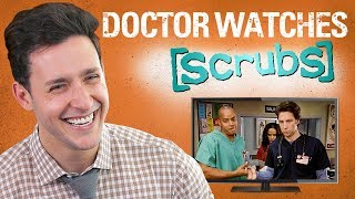 Real Doctor Reacts to SCRUBS | Medical Drama Review | Doctor Mike width=