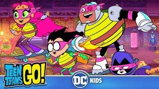 Teen Titans Go! en Français | Les Titans Ninjas | DC Kids