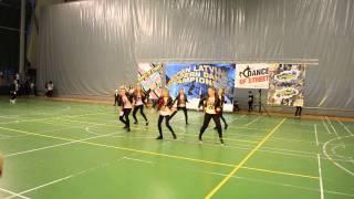 Dance studio KAPRIZE   LATVIAN OPEN 2015   HIP HOP junior small group   Begginer