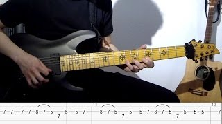 Iron Maiden - Dance of Death - Main Riff Lesson (Janick Gers)