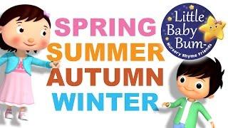 Seasons Song   4 Seasons   Autumn Version   Original Song by LittleBabyBum!