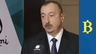 Azerbaijan's president insists low oil price are bringing reforms and diversification