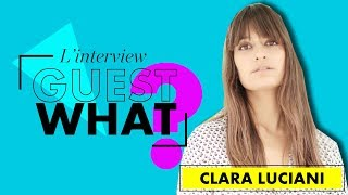 Clara Luciani au BSF : l'interview festival | Guest What |  ELLE Belgique