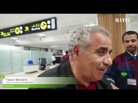 Video : Le voyage du Wydad en Tunisie, de l'embarquement à l'atterrissage