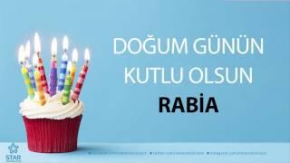 İyi ki Doğdun RABİA - İsme Özel Doğum Günü Şarkısı