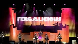 Fergie - Fergalicious ( ao vivo de São Paulo do show do Black Eyed Peas 04/11/2010 )