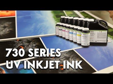 Nazdar 730 Series UV Inkjet Ink