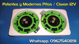 Potentes y Modernos Pitos / Claxon