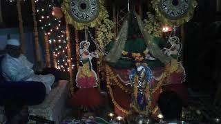 तुलसी विवाह ( लग्न ) रेणुका माता मंदिर सोनई . (काच मंदिर) सोनई