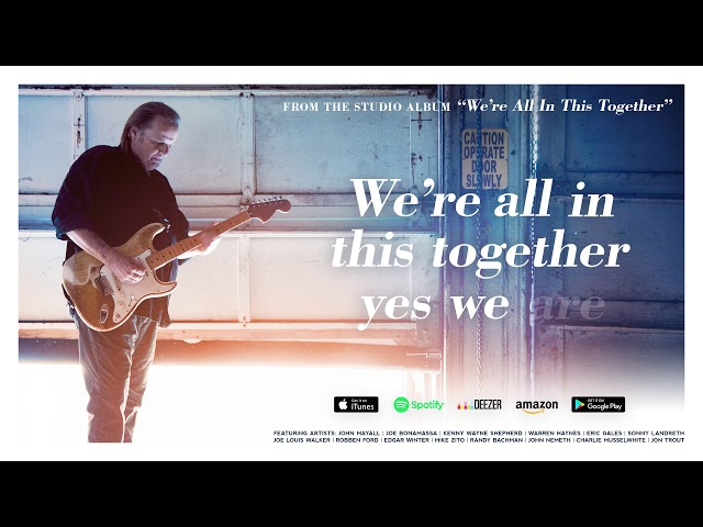 Video oficial de Walter Trout We're All in this Together