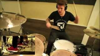 Memphis May Fire / Jake Garland - GRENADE (Official Drum Video)