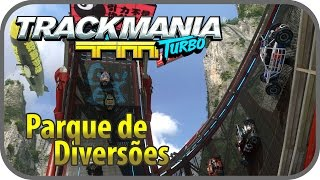 TrackMania Turbo Drift - Roller Coaster Campanha #1 PT-BR