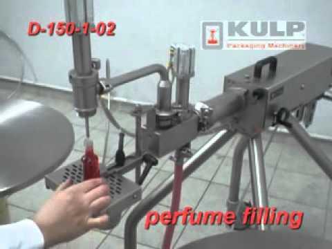 KULP Parfüm Dolum Makinesi