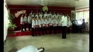 "QGHS CHOIR ""Trend Singers""- Ave Verum Corpus""(NAMCYA2008-Youth Choir)"