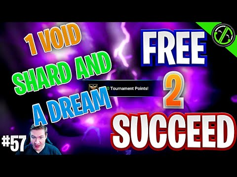 ONE Free to Play Void Shard & We Summoned THIS?!?! I CAN'T Believe It | Free 2 Succeed - EPISODE 57