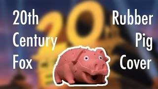 20th Century Fox Intro Rubber Pig Cover