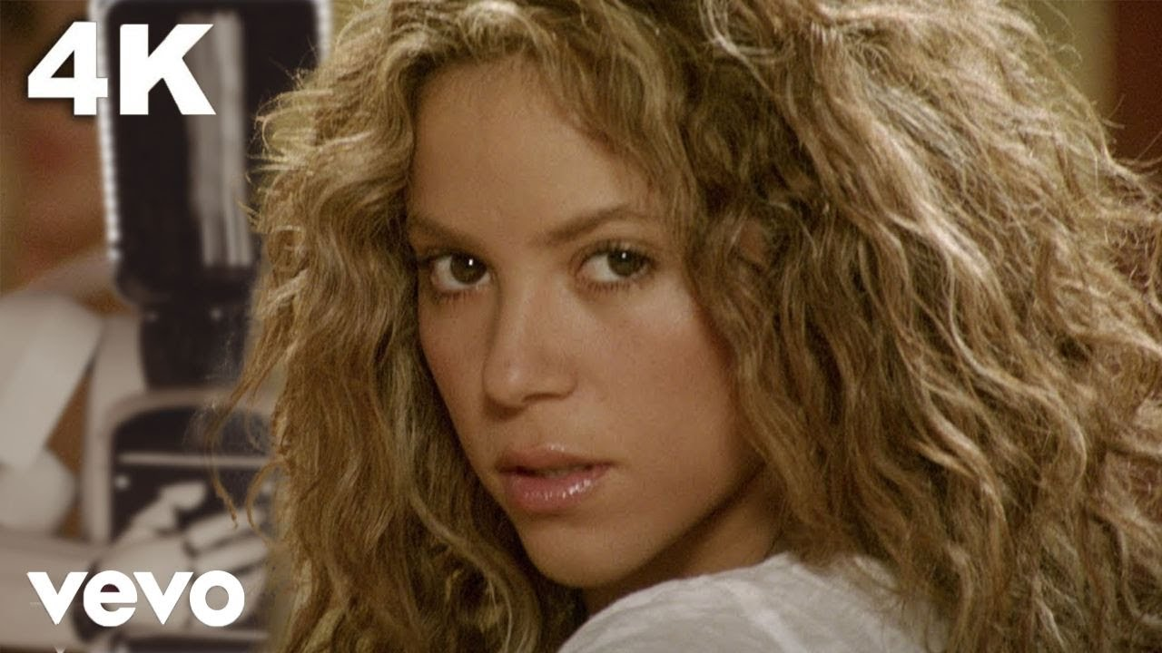 Shakira - Hips Don`t Lie  ft. Wyclef Jean