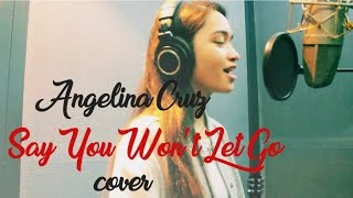 Angelina Cruz - Say You Won't Let Go (Cover)