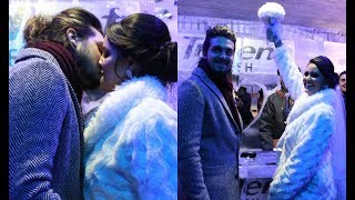 Luan Santana 'se casa' com fã com direito a beijo na festa de São João em Campina Grande