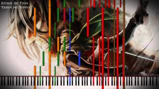 """[Black MIDI] Attack on Titan - """"Guren no Yumiya"""" 100,000 Notes"""