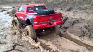 """""""DODGE 360"""" Axial SCX10 Power Wagon in Every Element"""