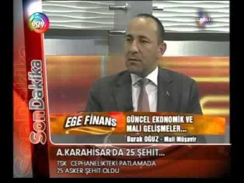 Burak OĞUZ - Ege Tv (6.09.2012) Gelecek Zamlar & Yeni  GV. Kanun Taslağı-1