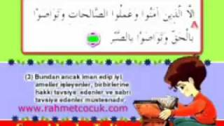 Qur`an  2012.... 103. AL - A'S'R