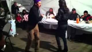 Polin bailando cumbia !!