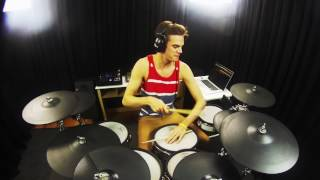 Simon Bourgault   Come With Me Now   KONGOS   Drum Cover