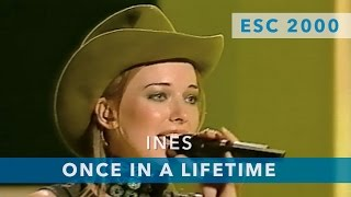 Ines - Once in a lifetime (Eurovision Song Contest 2000)
