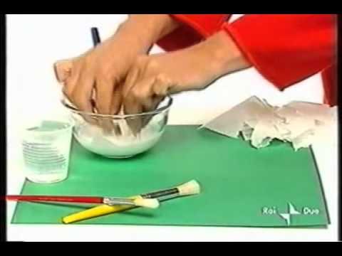 Come dipingere la cartapesta fai da te mania for Creare piani di costruzione