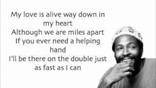 Marvin Gaye - Ain't No Mountain High Enough (Lyrics) + Song Download