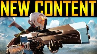 Destiny - NEW CONTENT INCOMING!