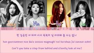 Miss A - One Step (한걸음) [Hangul/Romanization/English] Color & Picture Coded HD