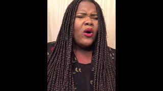 "Danielle Holback - ""Tired"" Cover by Kelly Price (Audition Video)"