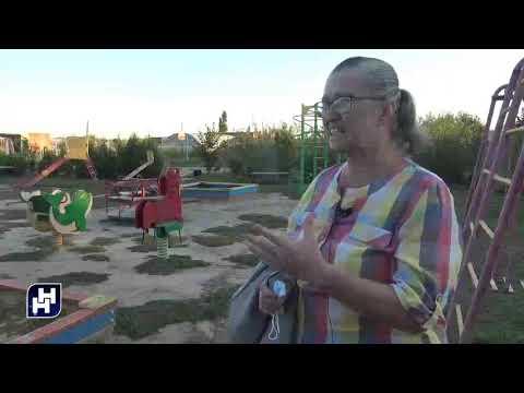 Детские площадки надо беречь (ОПХ)