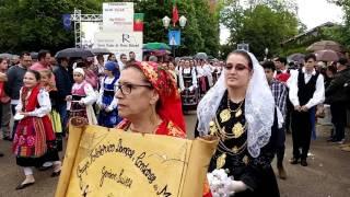 Pèlerinage notre dame Fatima Mont Roland Dole .Mai 2017