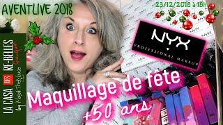 Maquillage spécial fêtes NYX Sugar Trip⭐️ AVENTLIVE 50 ANS +⭐️
