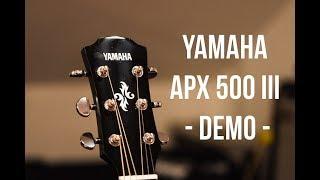 Yamaha APX 500 III | Riff Demo |