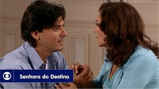 Senhora do Destino: capítulo 156 da novela, quinta, 19 de outubro, na Globo