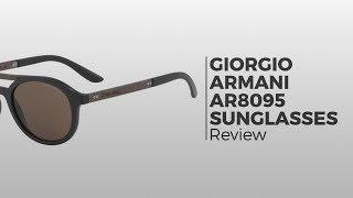 68597f9e7bc8 Giorgio Armani AR8095 504273 Sunglasses Black