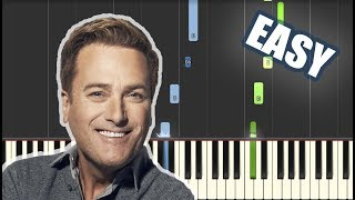 Agnus Dei - Michael W Smith | EASY PIANO TUTORIAL by Betacustic