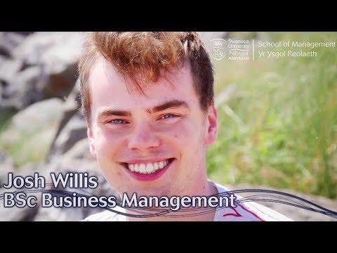 Studying Business at Swansea - Josh Willis