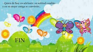 cuento musical Trisy una mariposa hermosa