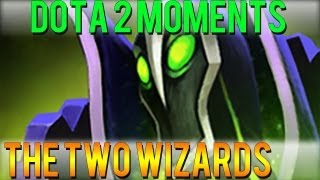 Dota 2 Moments - The Two Wizards