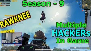 Rawknee Spectates Multiple HACKERS || SEASON 10 PUBG MOBILE