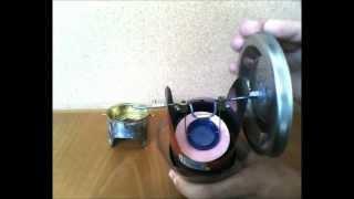 Stirling Engine- Homemade