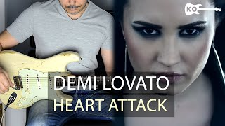 Demi Lovato - Heart Attack - Electric Guitar Cover by Kfir Ochaion